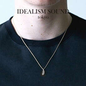 idealism sound イデアリズムサウンド SMALL FEATHER NECKLACE SILVER スモールフェザー ネックレス シルバー