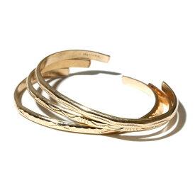 INDIAN Jewelry インディアンジュエリー GOLD BANGLE ゴールドバングル 0.4cm ナローミディアムバングル ナバホ 12Kゴールドフィルド メンズ レディース