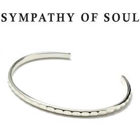 シンパシーオブソウル ブリリアンス バングル シルバー ブレスレット SYMPATHY OF SOUL Brilliance Bangle Silver 【正規商品 公式通販】