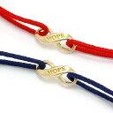 ブレスレット SYMPATHY OF SOUL シンパシーオブソウル Infinity HOPE Cord Bracelet K18YG インフィニティホープコ...