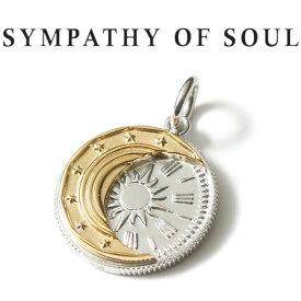 シンパシーオブソウル エクリプス コイン ペンダント シルバー SYMPATHY OF SOUL Eclipse Coin Pendant Silver【正規商品 公式通販】
