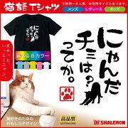 猫語Tシャツニャンだチミは