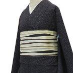【粋夢】お仕立上がり着物かすり/濃紺(単衣)[きもの木綿カジュアル]