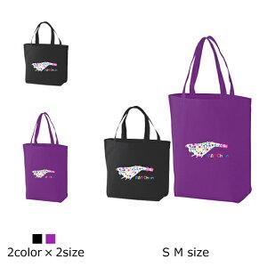 【送料無料】FAT Chan Canvas bag S M/エギング!可愛いドット柄でポッチャリ餌木をデザインしたバッグが登場☆釣りバッグ!釣りパーカー!釣りT!釣りガール!釣りTシャツ!タイラバ!バス釣