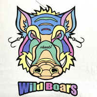 【送料無料】WildBoars/2019年はイノシシ!SHANKSならではのルアースタイルになっております☆釣りパーカー!釣りT!ルアー!釣りガール!釣りTシャツ!タイラバ!バス釣り!エギング!ロックフィッシュ!シュノーケル!スキューバダイビング!お洒落