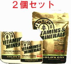 【ポイント5倍:5/9(日)20:00-5/16(日)1:59】GOLD'S GYM(ゴールドジム)マルチビタミン&ミネラル 360粒 (2個セット)