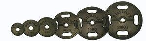 【オリンピックプレート】「スチールフレックス バーベルプレート」STEELFLEX 1.25kgラバーバーベルプレート 50mm孔径(2枚1組)|バーベル セット ダンベル 筋トレ ウエイトトレーニング パ
