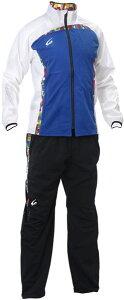 【減量着】クレーマージャパン サーキュレーションスーツ (カラー:ブルー、上下セット、ポケット付き、サイズ:S〜3L) E734E783 クレーマー ダイエット 減量 上下セット 発汗 男女兼用