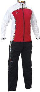 【減量着】クレーマージャパン サーキュレーションスーツ (カラー:レッド、上下セット、ポケット付き、サイズ:S〜3L) E734E783 クレーマー ダイエット 減量 上下セット 発汗 男女兼用