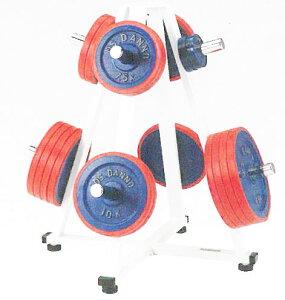 【受注生産品】【バーベルホルダー】DANNO バーベルホルダーST50 Φ50mmプレート用 D-544|バーベルプレートスタンド バーベルプレート