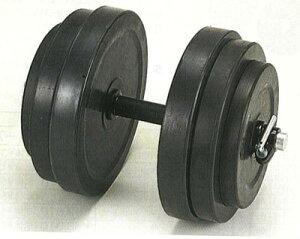 【在庫有り】ダンノ ラバーベルST28 20kgセット(片手分) D?5703