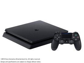 【保証書他店印付き】ソニー プレイステーション4 CUH-2200AB01 [500GB ジェット・ブラック] SONY PS4 本体 プレステ 据え置き型ゲーム機 即納 在庫あり 未開封