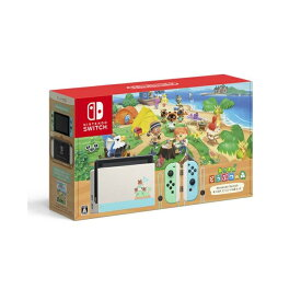Nintendo Switch あつまれ どうぶつの森セット HAD-S-KEAGC 任天堂 ニンテンドースイッチ ゲーム機 本体 新型 バッテリー長持ち 新品