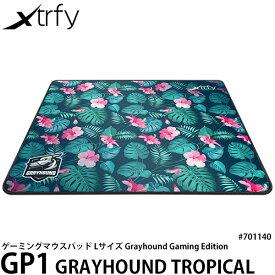 【送料無料】【あす楽対応】【即納】 Xtrfy GP1 GRAYHOUND TROPICAL LARGE ゲーミングマウスパッド ハイスピードサーフェス Lサイズ #701140 [Grayhound Gaming Edition/マウスパッド/エクストリファイ]