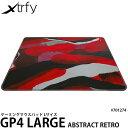【送料無料】【あす楽対応】【即納】 Xtrfy GP4 LARGE ゲーミングマウスパッド Lサイズ アブストラクトレトロ #701274…