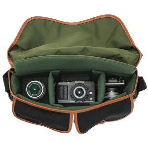 【送料無料】ビリンガムV505201-70ハドレープロキャンバスブラック/タン[一眼レフ用カメラバッグ帆布製ソフトバッグ]