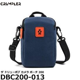 【送料無料】 クランプラー DBC200-013 ザドリューボブ カメラ ポーチ 200 ブルーストーン [小型ミラーレス向け おすすめカメラケース ショルダー 0.4L]