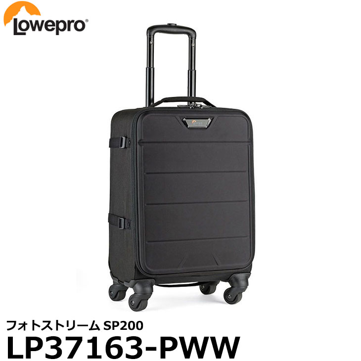 【送料無料】【あす楽対応】【即納】 ロープロ LP37163-PWW フォトストリームSP200 [一眼レフ2台+交換レンズ8本+15インチノートPC収納可能/ローラーバッグ/カメラバッグ/LP37163PWW/Lowepro]
