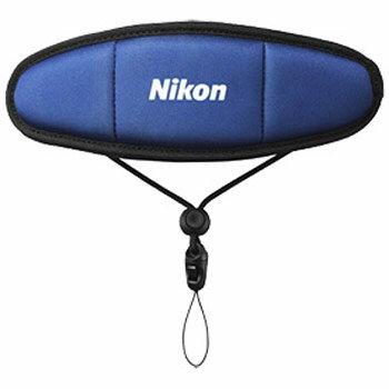 【あす楽対応】【即納】 ニコン FTST1 フロートストラップ ブルー [Nikon COOLPIX S33/ AW130対応]