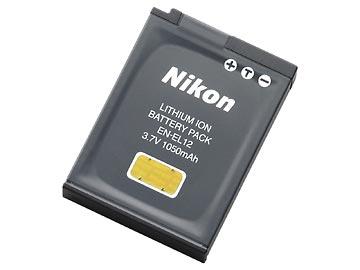 【送料無料】 ニコン EN-EL12 Li-ionリチャージャブルバッテリー [Nikon COOLPIX A900/S9900/AW130対応]