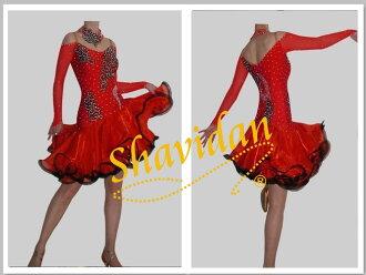舞厅舞、 舞厅舞蹈服饰和服装舞蹈服装竞赛、 舞台服装和服饰演示服装 demodress、 卡拉 ok、 阶段和音乐会,Latendresse Latendresse 恰恰竞争服饰演示文稿
