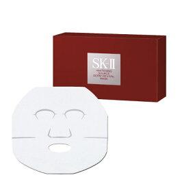 SK2/SK-II(エスケーツー)ホワイトニングソース ダームリバイバルマスク 6枚入り【正規品】 SK-2 ピテラ 化粧品 sk−2 フェイシャルトリートメント スキンケア パック シートマスク ギフト 妻 彼女 エスケーツー コスメ