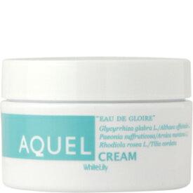 【送料無料】ホワイトリリー[White Lily]アクエルクリーム110g水で顔を洗ってもしみるほどの敏感肌さん!適切なアプローチのための植物成分を配合しています!!