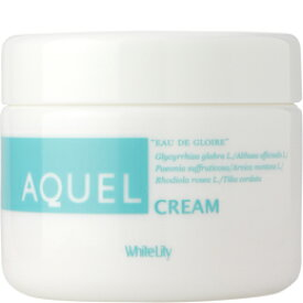 【送料無料】ホワイトリリー[White Lily]アクエルクリーム340g水で顔を洗ってもしみるほどの敏感肌さん!適切なアプローチのための植物成分を配合しています!!