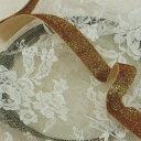 ラメ ベルベット テープ 20mm巾 50cm単位 ウエディング 服飾資材 手芸 リボン 光沢が美しい 片面ラメベルベット【シープドリームズ】