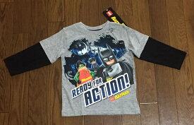 ☆USA直輸入品 LEGO/バットマン KID'S 長袖Tシャツ【送料無料】☆