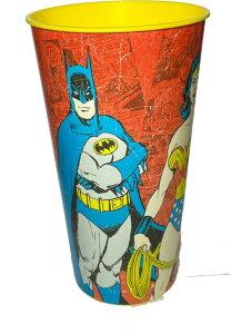☆USA直輸入品 バットマン&スーパーマン プラスチックコップ【在庫処分SALE50%OFF】☆