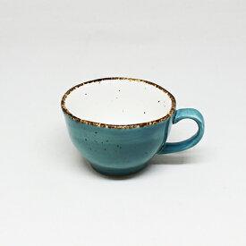 フリッシュ 8cm カップ&ソーサー ブルー業務用 業務用食器 レストラン ホテル カフェ コーヒー ティー 紅茶 スープ デザート イタリアン フレンチ 和カフェ