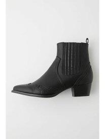 [Rakuten Fashion]【SALE/30%OFF】WESTERN STITCH SHORT ブーツ MOUSSY マウジー シューズ シューズその他 ブラック【RBA_E】【送料無料】