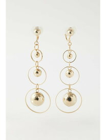 [Rakuten Fashion]【SALE/20%OFF】DROP BALL EARRINGS MOUSSY マウジー アクセサリー イヤリング ゴールド【RBA_E】