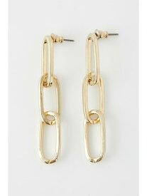 [Rakuten Fashion]SOLID CHAIN P イヤリング SLY スライ アクセサリー イヤリング ゴールド ブラック
