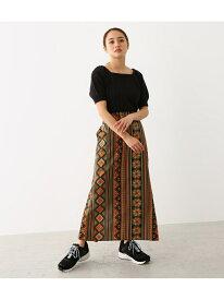 【SALE/60%OFF】アフリカン バティック ペンシル スカート RODEO CROWNS WIDE BOWL ロデオクラウンズワイドボウル スカート ロングスカート カーキ【RBA_E】[Rakuten Fashion]