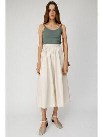 【SALE/60%OFF】HW GATHER LONG スカート MOUSSY マウジー スカート ロングスカート ホワイト ブラック【RBA_E】[Rakuten Fashion]