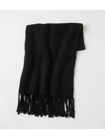 [Rakuten Fashion]TWIST FRINGE BIG STOLE SLY スライ アクセサリー イヤリング ブラック
