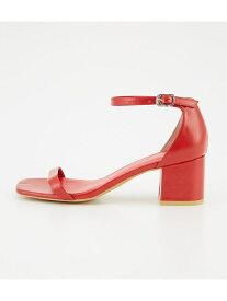 [Rakuten Fashion]THIN STRAP SANDAL SLY スライ シューズ サンダル/ミュール レッド【送料無料】