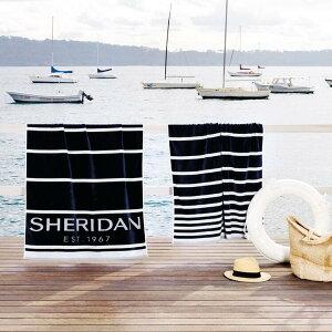 SHERIDAN シェリダン ケットシェルハーバー ビーチタオル 100×180cm 百貨店