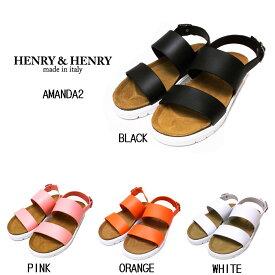 ★在庫処分★HENRY&HENRY AMANDA 2イタリア製 ヘンリーアンドヘンリー アマンダ2ヘンリーヘンリー コンフォートサンダルビーチサンダル、タウンユースレディース35,36,37 靴