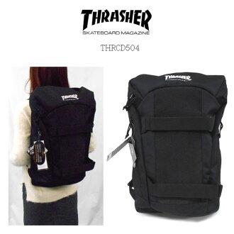 支持THRASHER THRCD-504 BACKPACK PC的背包背包日包,戶外,通勤,上學