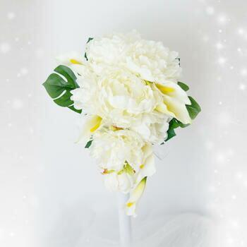 「美人の代名詞とされる花のブーケ」bu-ke001【メーカー取り寄せ】