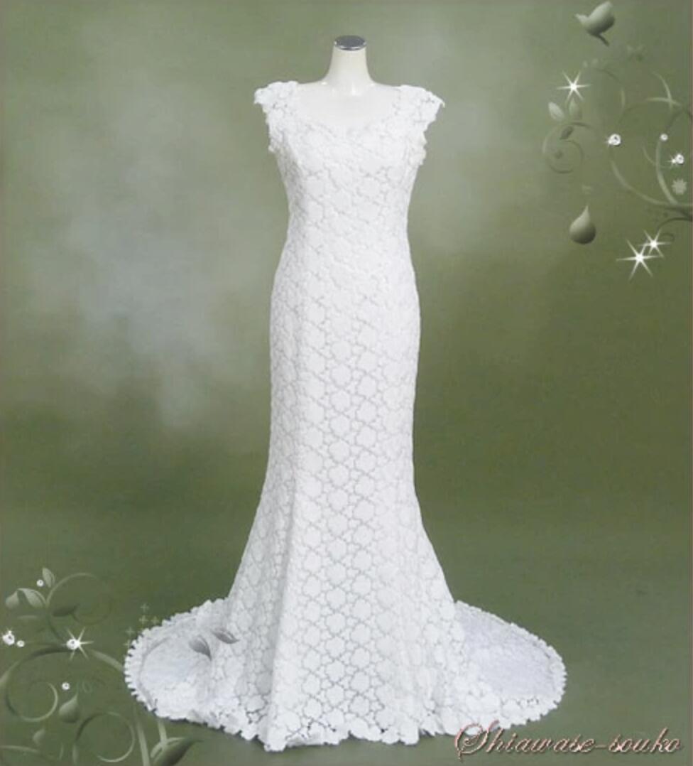 レンタル ウェディング ドレス「Sスレンダー」【レンタル/ウェディングドレス/貸衣装】【fy16REN07】