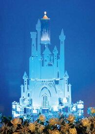 【SALE50%OFF】ディズニー シンデレラ城のウェディングキャンドル【メインキャンドルレンタル】【送料無料】【シンデレラ キャッスル(LEDプレート付)】【ブライト】【楽天スーパーSALE】