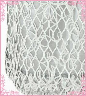 パーティドレスレンタル9号「シルバージャケットテープ刺繍チュールワンピース」g532