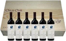 【送料無料】オーパスワン(Opus One) 2017 オリジナル木箱入り 6本セット カリフォルニア ナパバレー 赤ワイン 新着商品【※クール便は+390円別途請求】