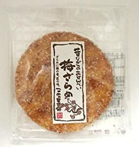 こめの里本舗 大判梅ざらめ煎餅 1枚×12入