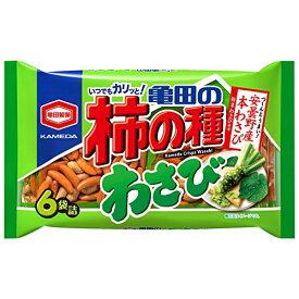 亀田製菓 亀田の柿の種わさび 182g×12入