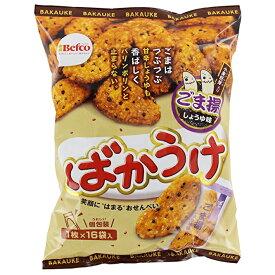 栗山米菓 ばかうけごま揚 16枚×12袋入